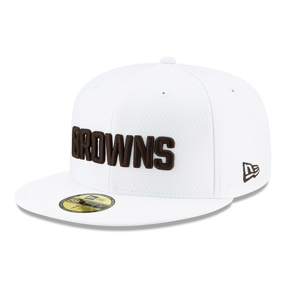 Cleveland Browns On Field Platinum 59FIFTY