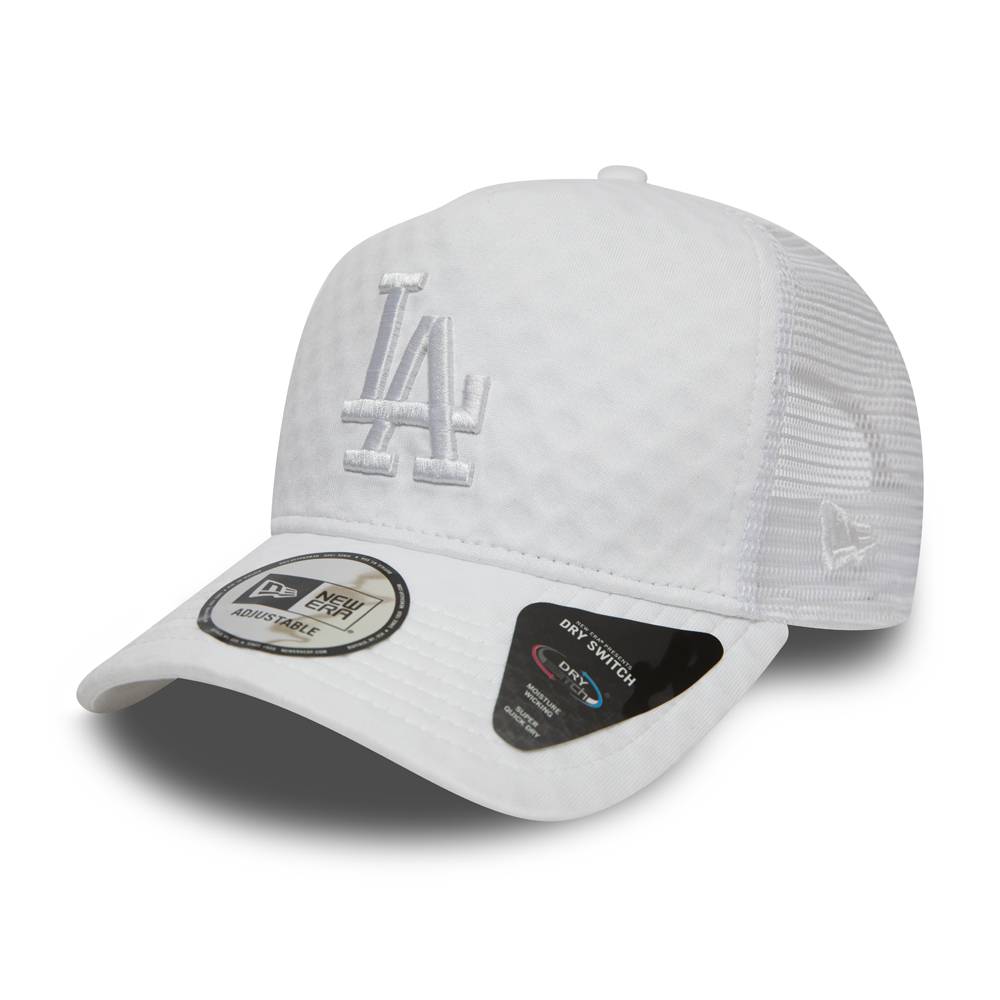 Los Angeles Dodgers Dry Switch White A Frame Trucker Cap