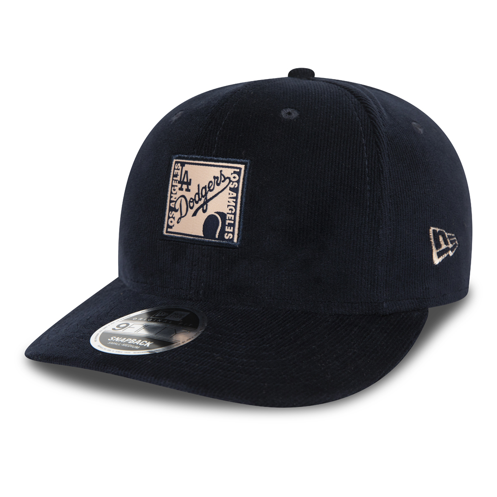 Los Angeles Dodgers Patch Black 9FIFTY Cap