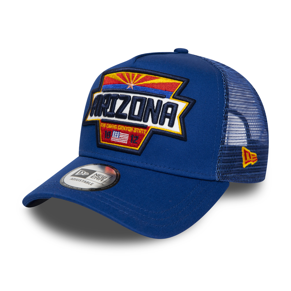 New Era Arizona Patch Blue A Frame Trucker
