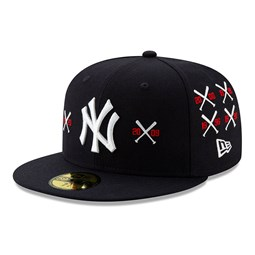 New York Yankees X Spike Lee Championship Crossed Bat 59FIFTY