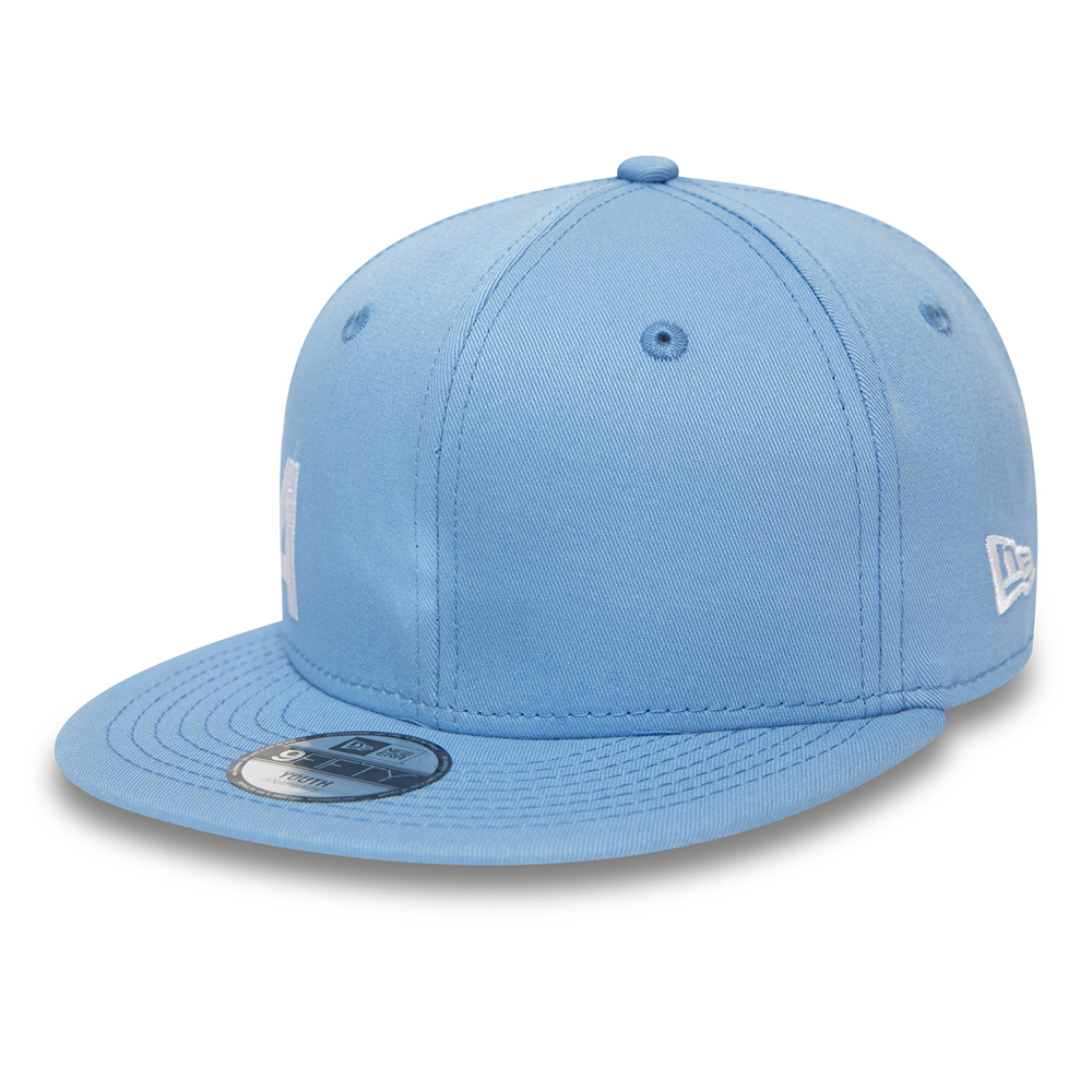 New Era Wordmark Essential Kids Blue 9FIFTY Cap