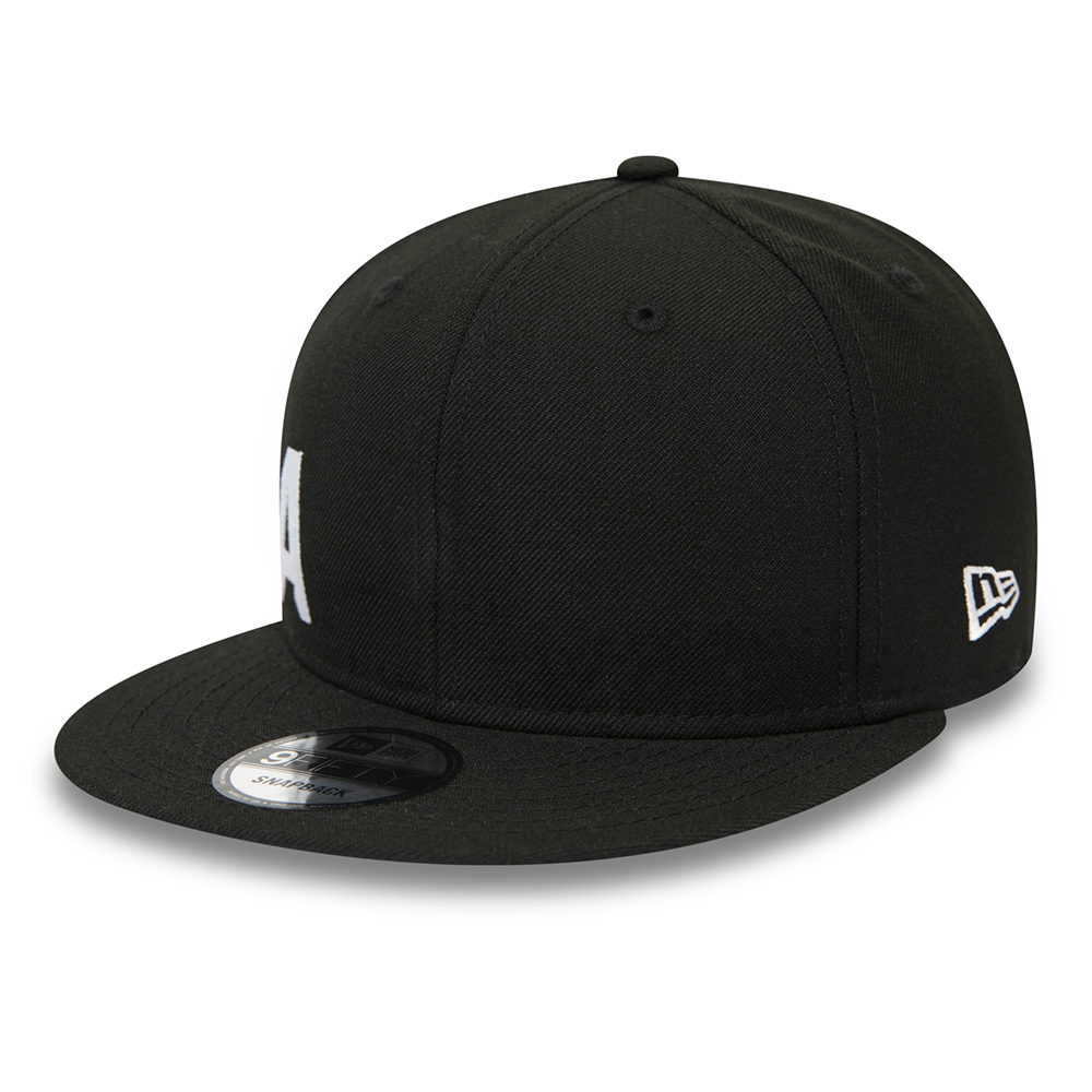 New Era Wordmark Essential Black 9FIFTY Cap