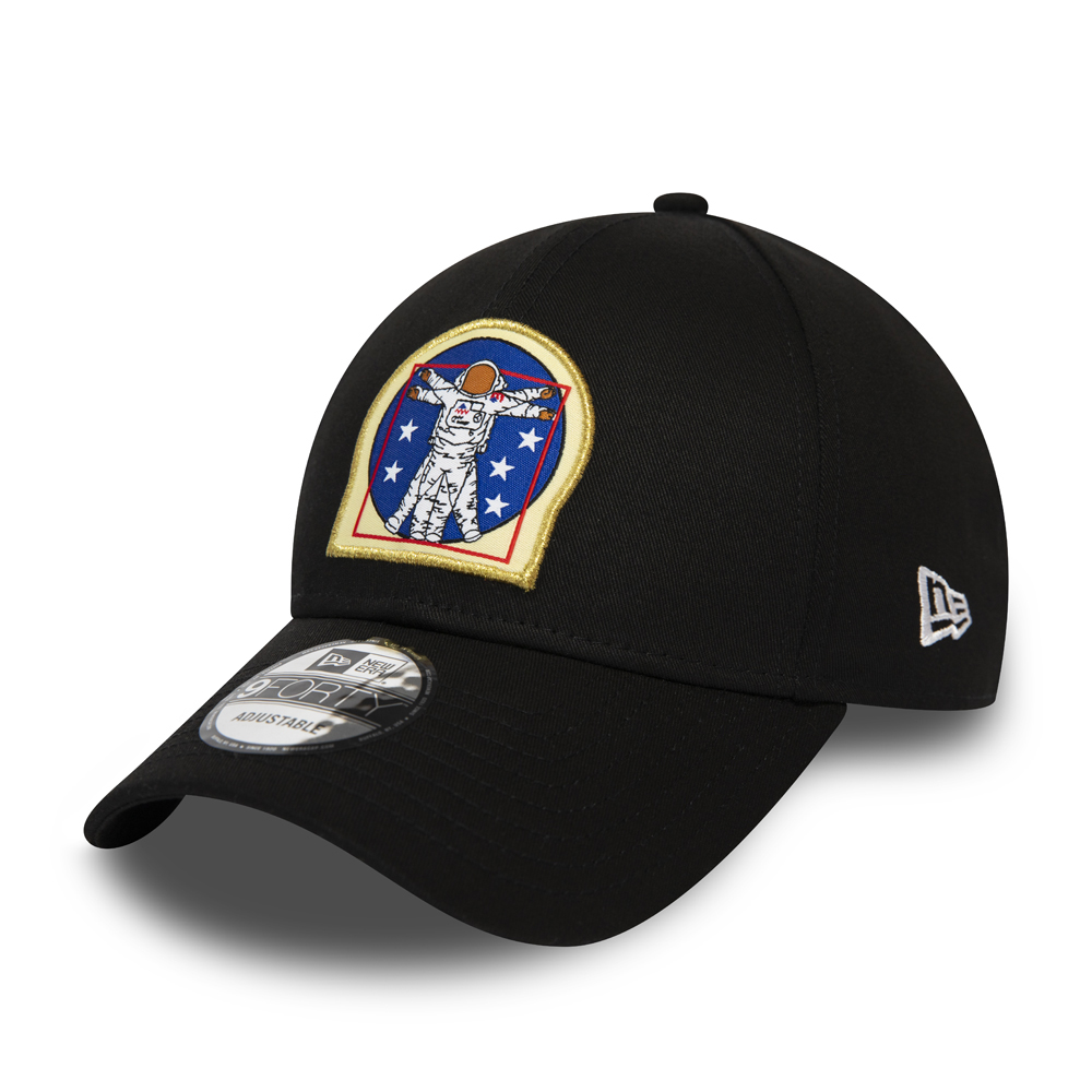 New Era x International Space Archives Black 9FORTY