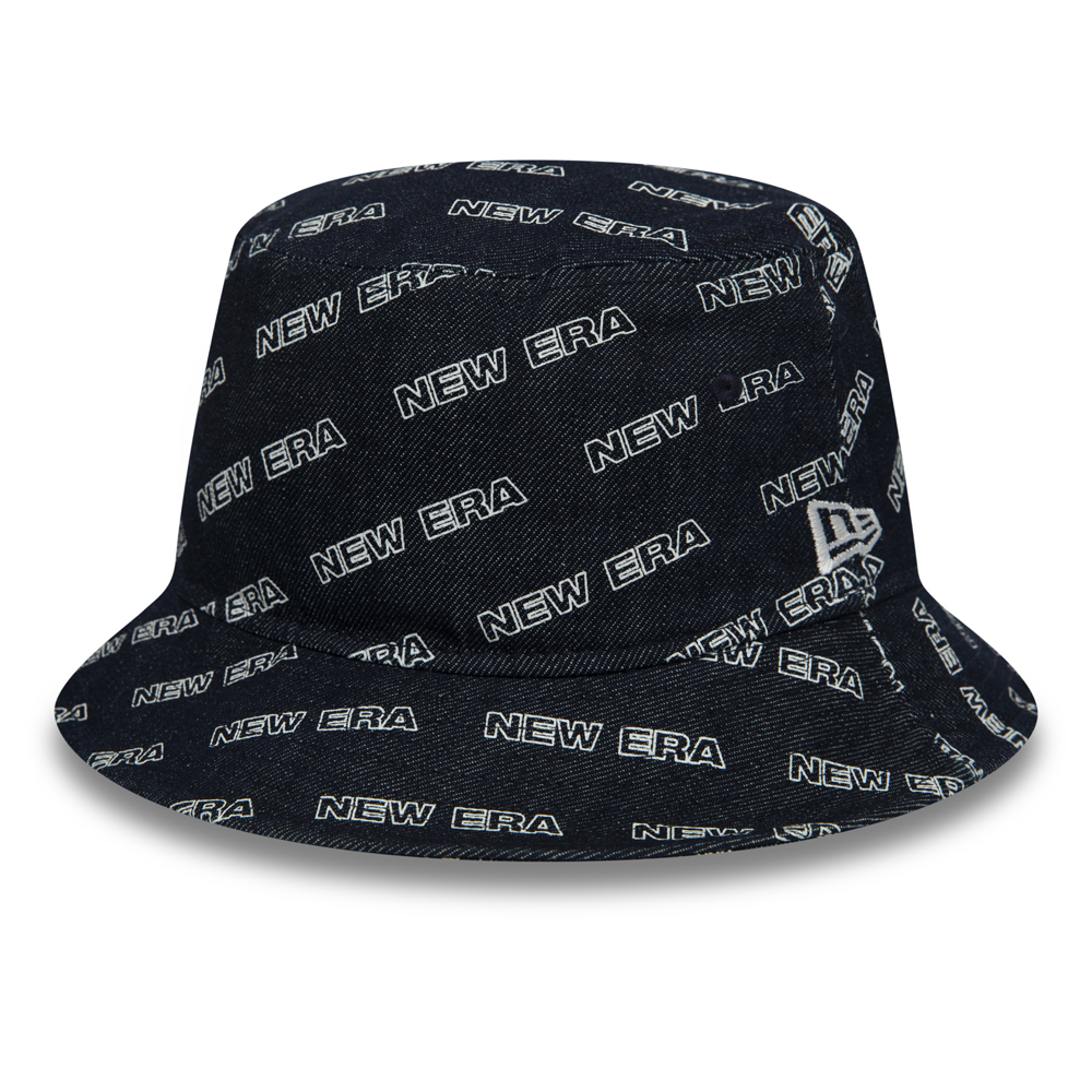 New Era Word Mark Navy Bucket