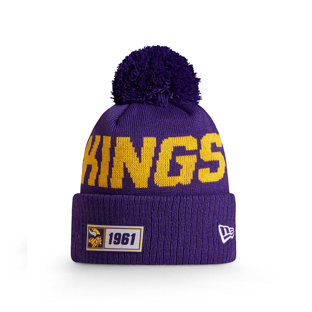 Minnesota Vikings Purple On Field Knit