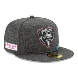 Chicago Bears Crucial Catch Grey 59FIFTY Cap