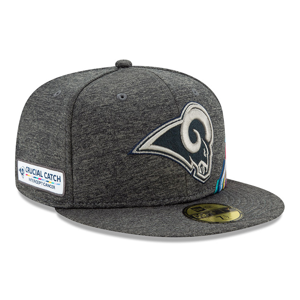 New Era 59Fifty Fitted Cap Crucial Catch Los Angeles Rams