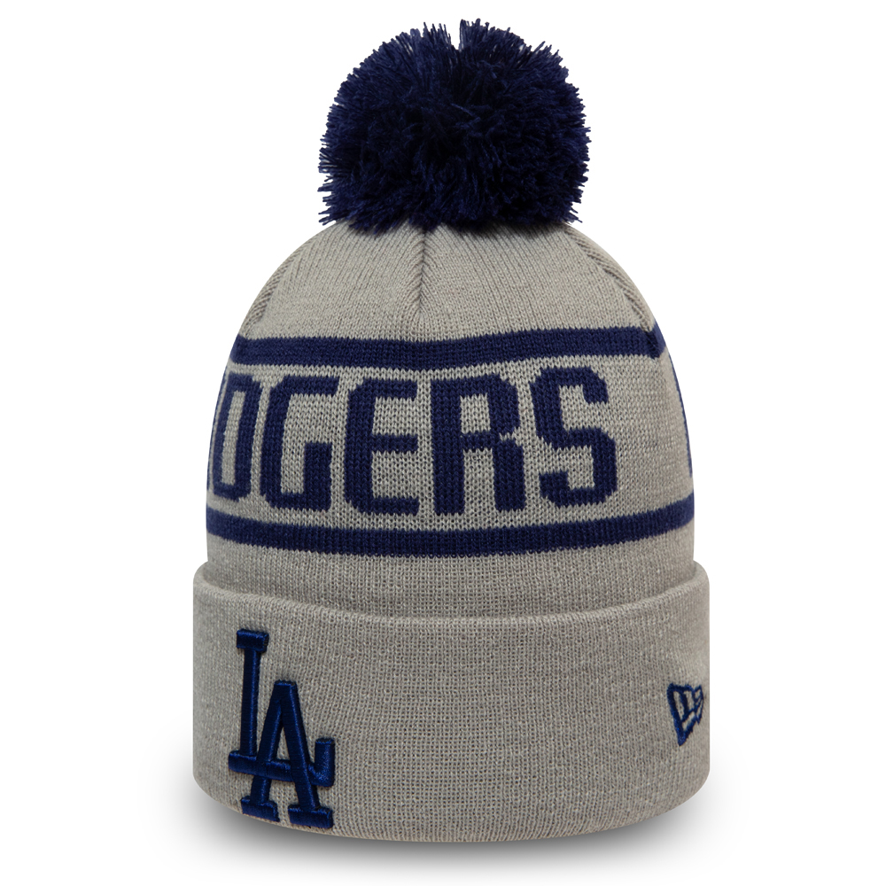 Los Angeles Dodgers Grey Bobble Knit