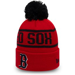 Boston Red Sox Red Bobble Knit