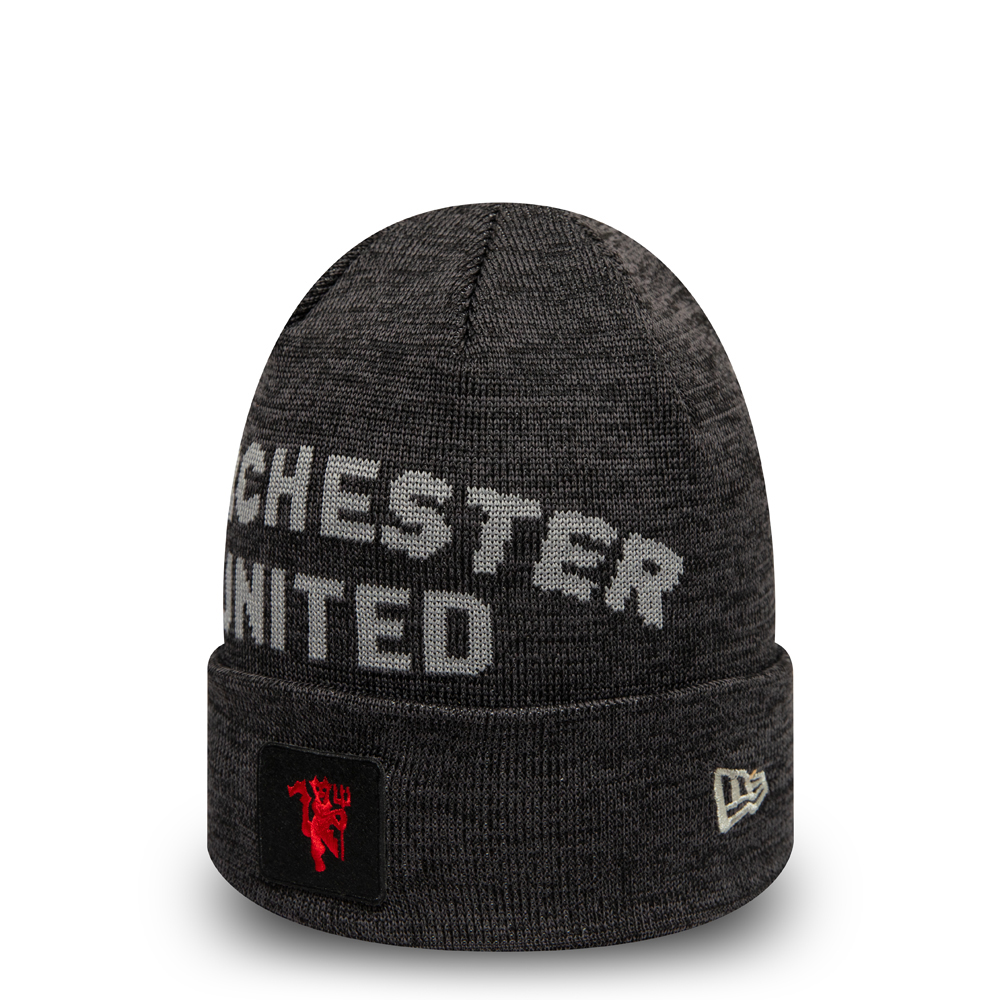 Manchester United Scripted Cuff Knit