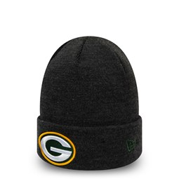 Green Bay Packers Essential Heather Grey Cuff Knit