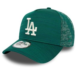 Los Angeles Dodgers Engineered Fit Green Trucker Cap