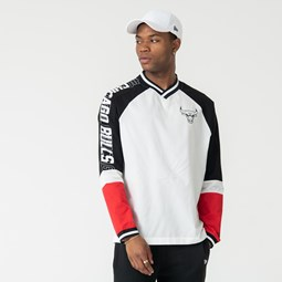Chicago Bulls Colour Block Long Sleeve Tee