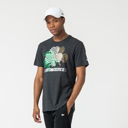 Boston Celtics Repeat Logo Grey Tee
