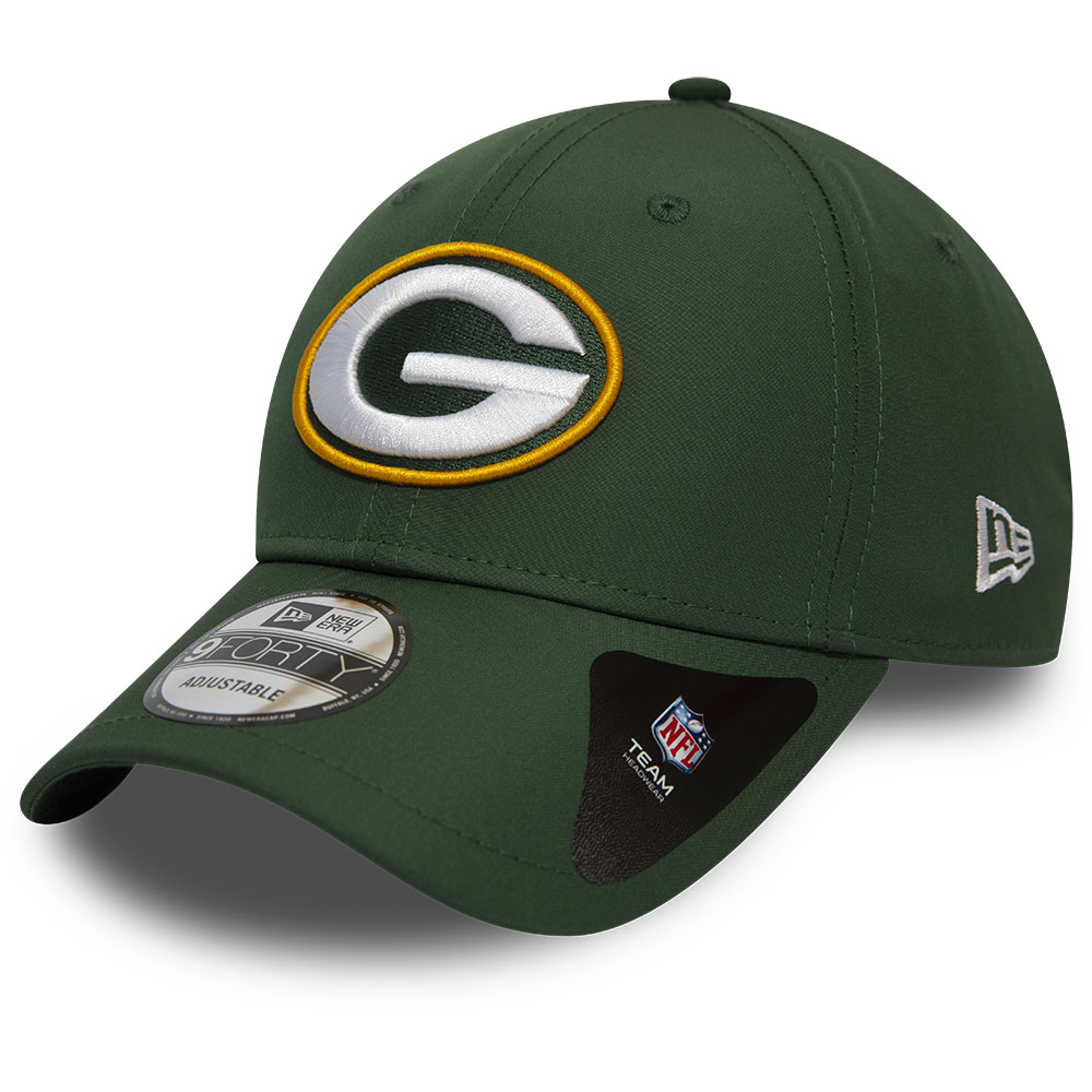 Green Bay Packers Winter Script Green 9FORTY Cap