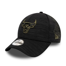 Chicago Bulls Engineered Fit Kids Black 9FORTY Cap