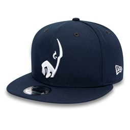 Los Angeles Rams Logo Elements Navy 9FIFTY Cap