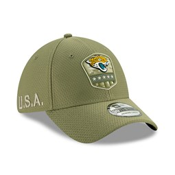 Jacksonville Jaguars Salute To Service Green 39THIRTY Cap