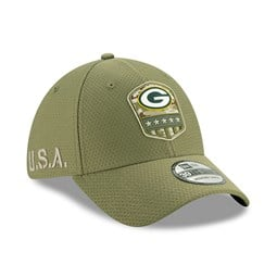 Green Bay Packers Salute To Service Green 39THIRTY Cap