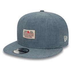 New Era Patch Chambray Blue 9FIFTY Cap