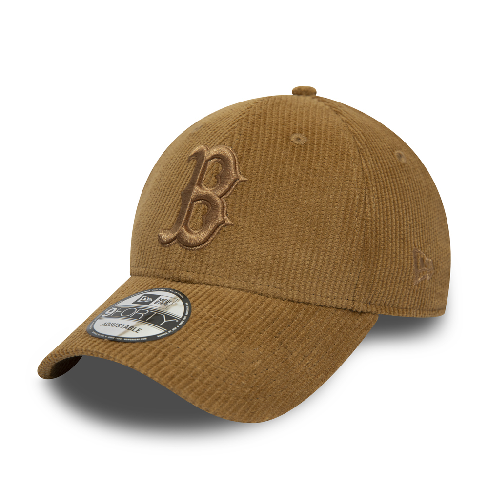 Boston Red Sox Brown Cord 9FORTY Cap