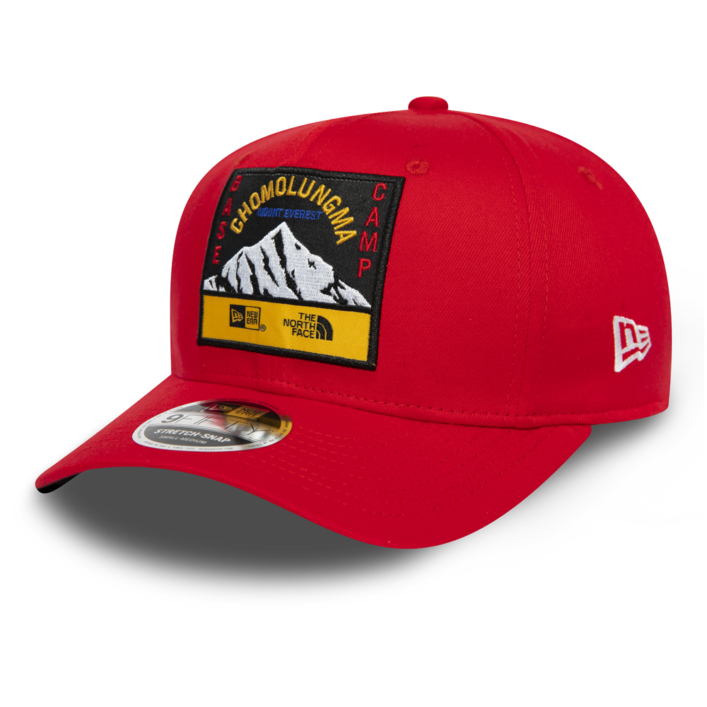 New Era X The North Face Red Stretch Snap 9FIFTY