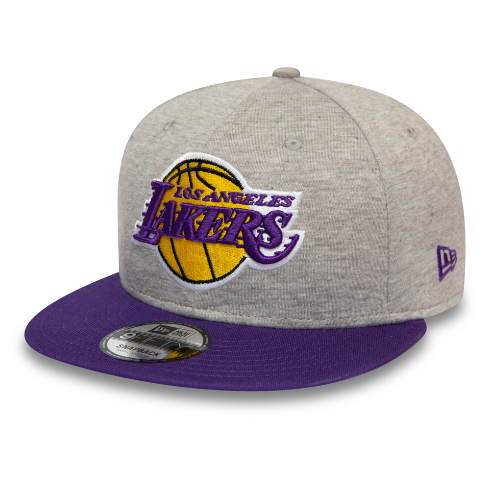 Los Angeles Lakers Essential Grey Jersey 9FIFTY Cap