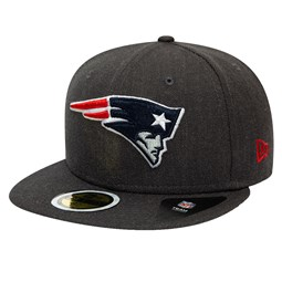 New England Patriots Kids Essential Heather Grey 59FIFTY Cap