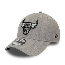 Chicago Bulls Essential Heather Grey 39THIRTY Cap