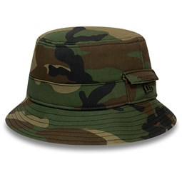 New Era Dog Ear Camo Bucket