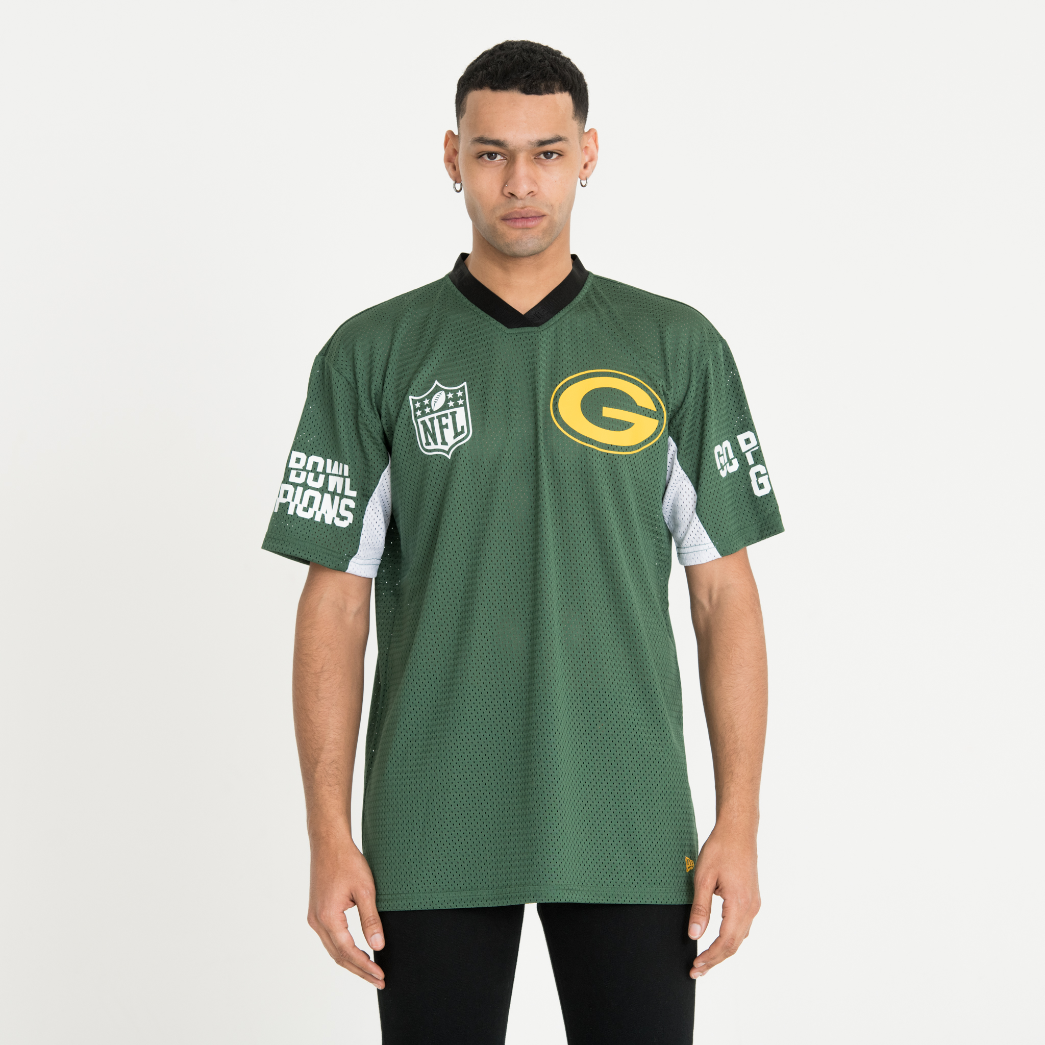 Green Bay Packers Green Oversized Tee