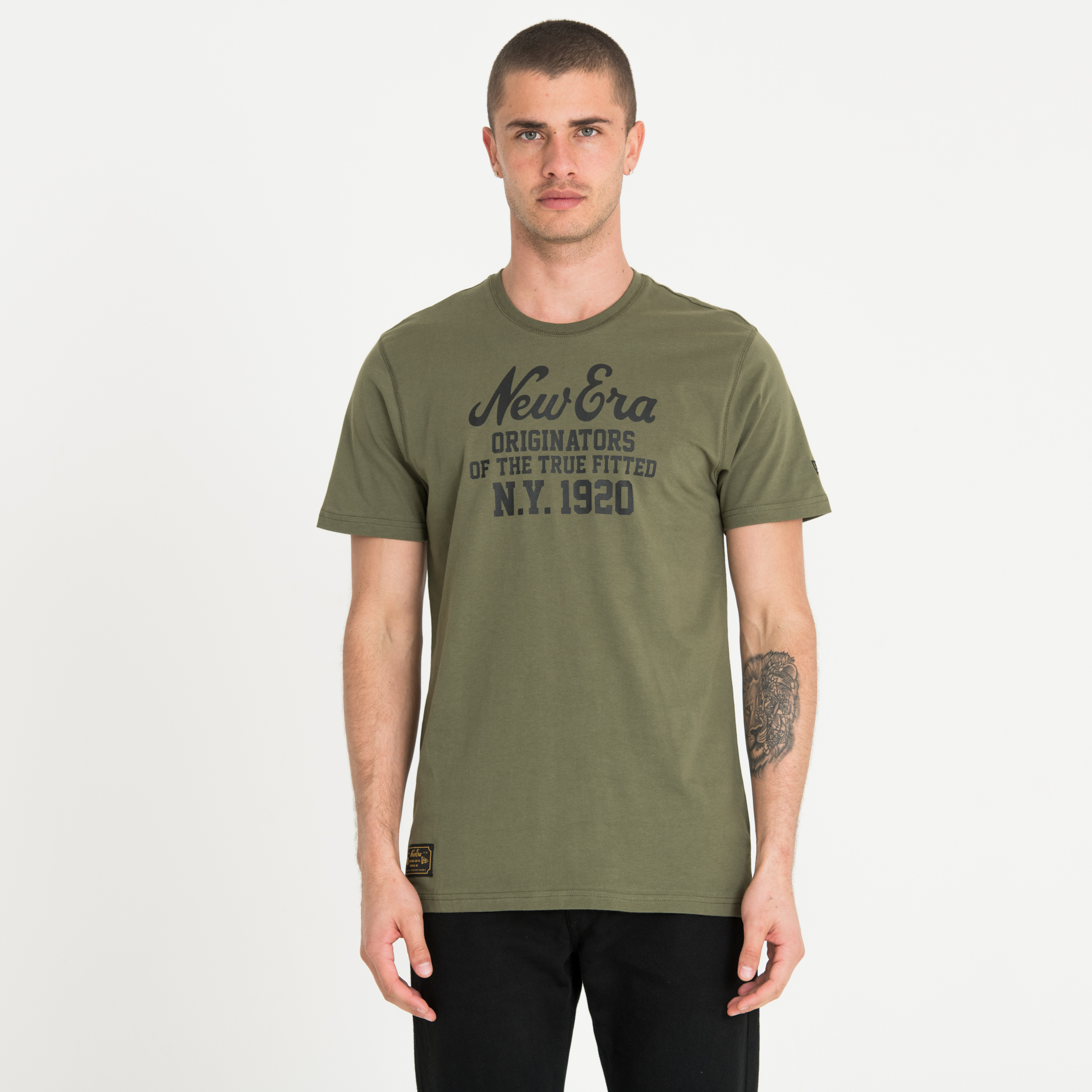 New Era Hertiage Green Tee