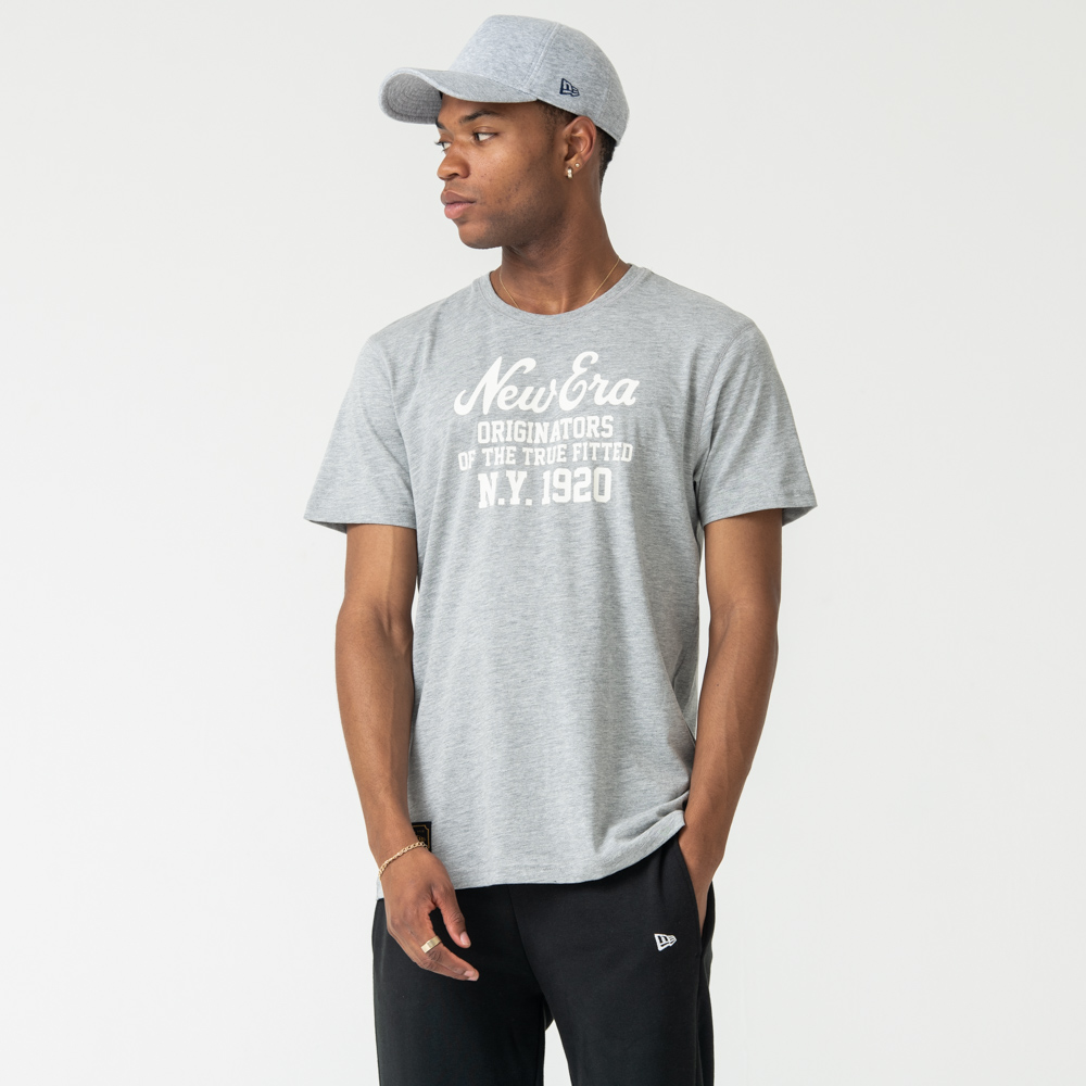 New Era Heritage Grey Tee