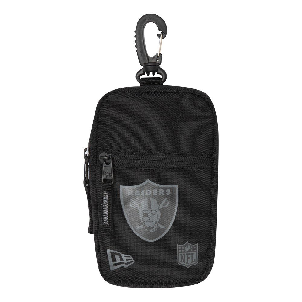 Oakland Raiders Black Mini Pouch