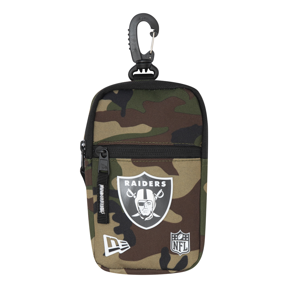 Oakland Raiders Camo Mini Pouch