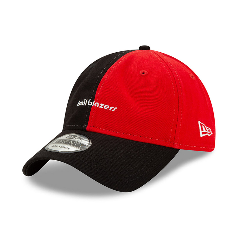 Portland Trailblazers Black Hard Wood Classic 9TWENTY Cap