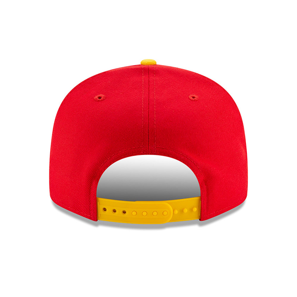 Houston Rockets Red Hard Wood Classic 9FIFTY Cap