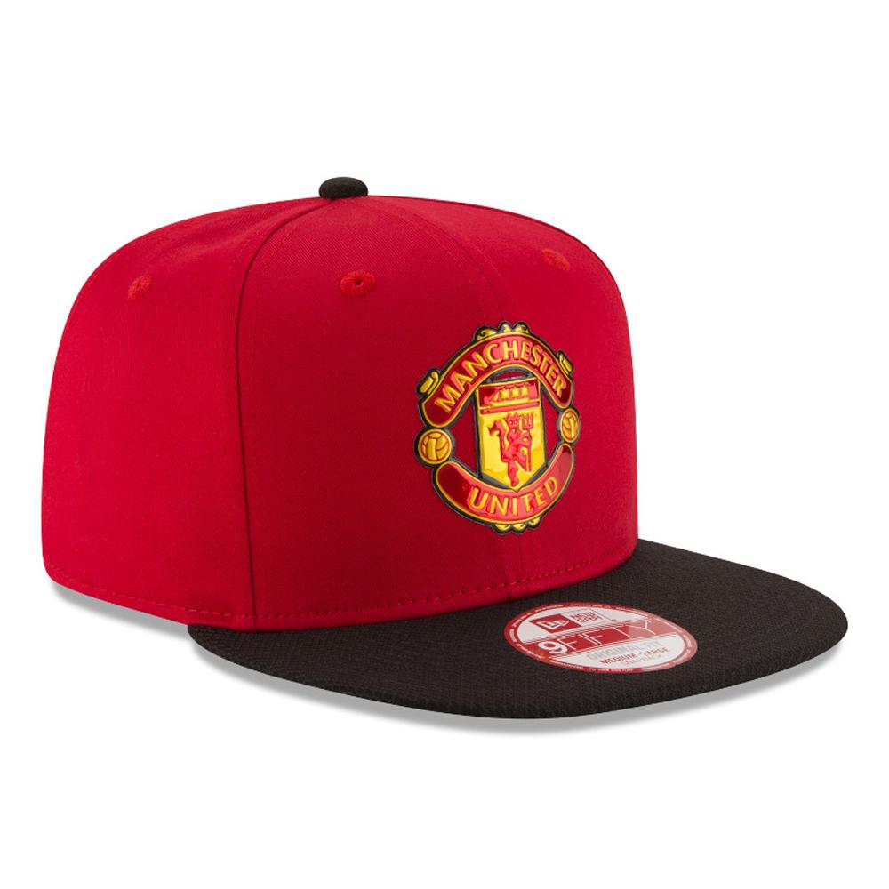 New Era Unisex Manchester United 9Fifty Football Snapback Cap Sports Training