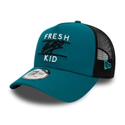 Fresh Ego Kid Blue A Frame Trucker Cap