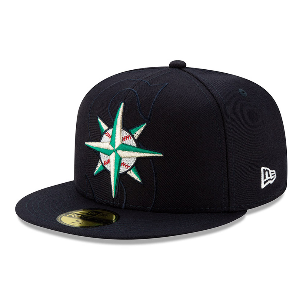 Seattle Mariners Element Logo 59FIFTY Cap