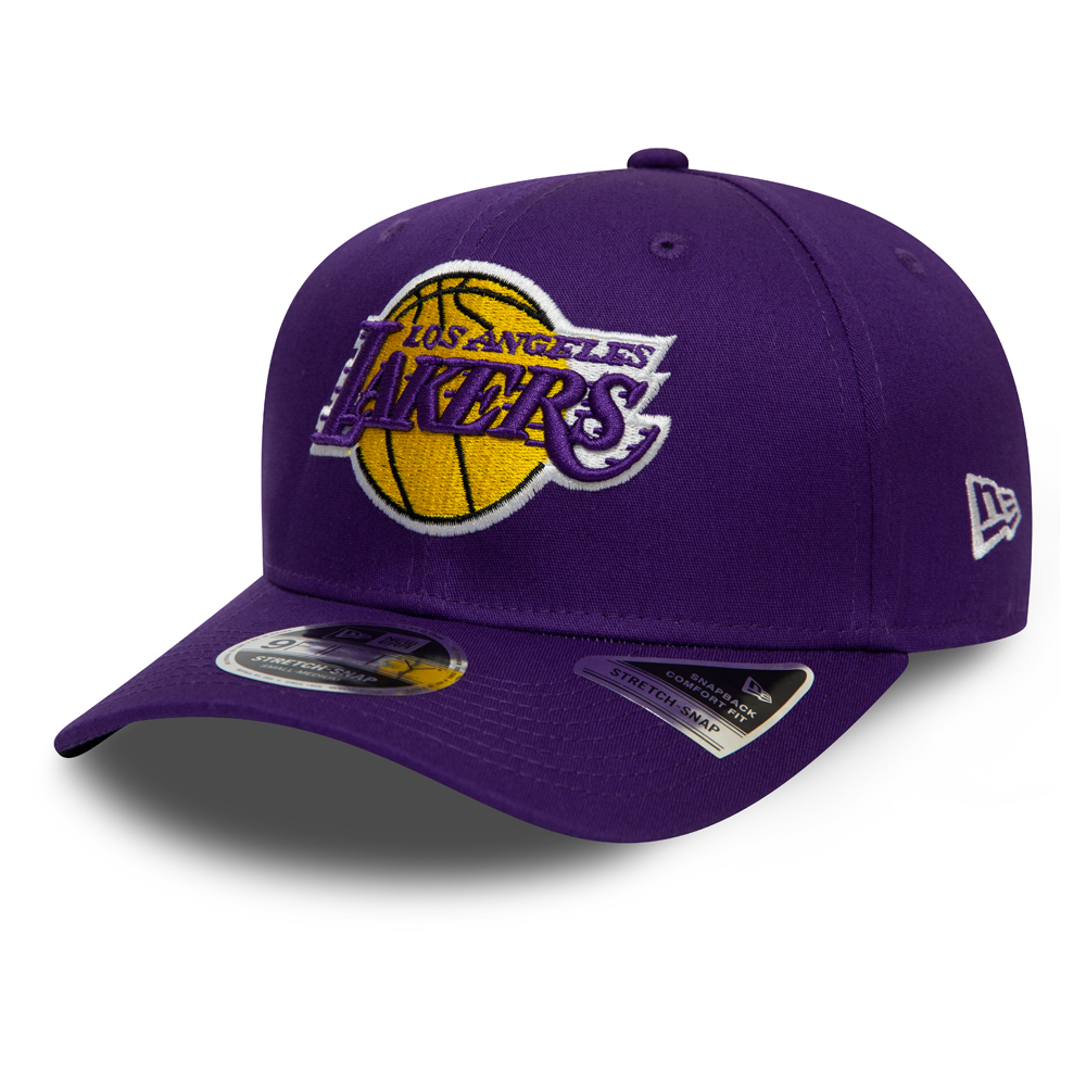 Los Angeles Lakers Purple Stretch Snap 9FIFTY Cap