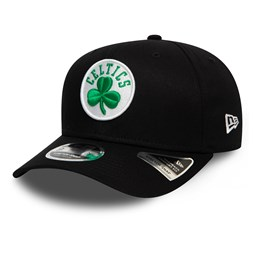 Boston Celtics Black Stretch Snap 9FIFTY Cap