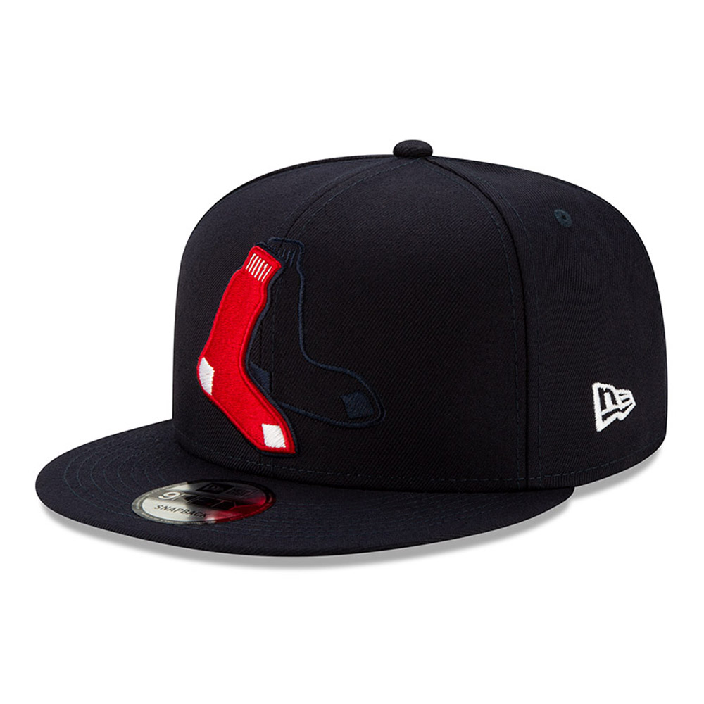 Boston Red Sox Element Logo 9FIFTY Snapback Cap