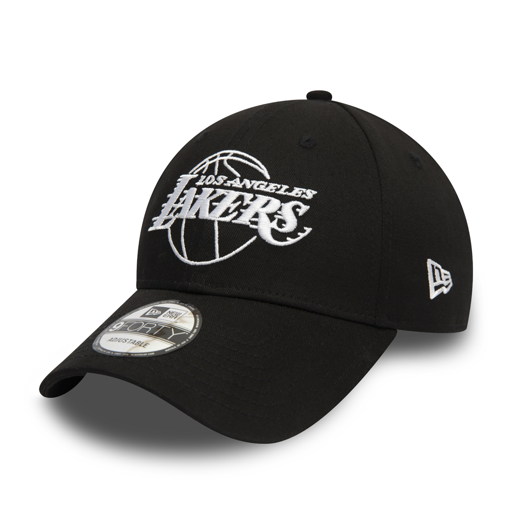 Los Angeles Lakers Essential Outline Black 9FORTY Cap
