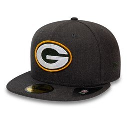 Green Bay Packers Essential Grey 59FIFTY Cap