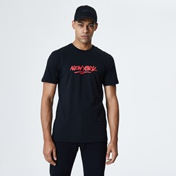 New Era New York Graphic Black T-Shirt
