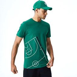Boston Celtics NBA Court Green T-Shirt