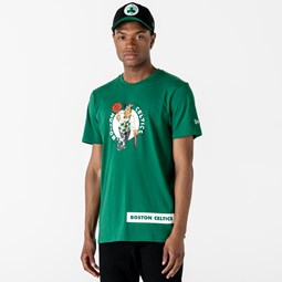 Boston Celtics Block Wordmark Green T-Shirt