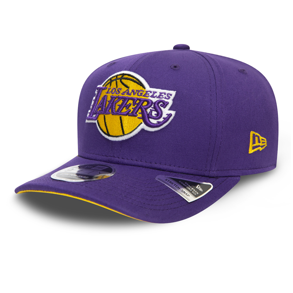 Los Angeles Lakers Purple Team Stretch Snap 9FIFTY Cap